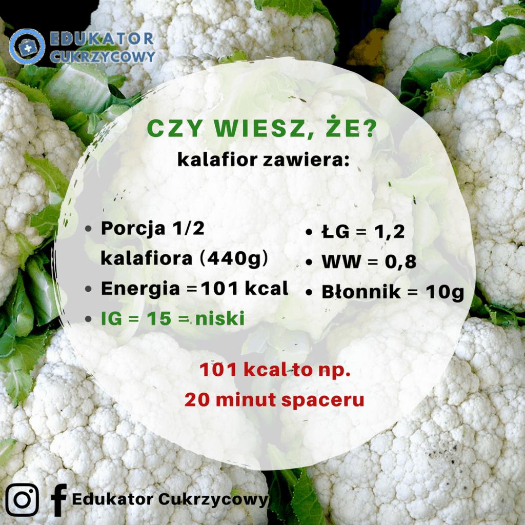 Kalafior w cukrzycy